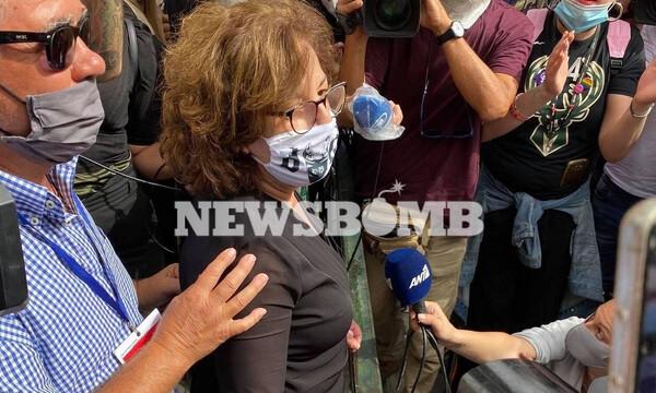 Μάγδα Φύσσα: Συγκλόνισε έξω από το Εφετείο - «Κερδίσαμε ένα κομμάτι, τίποτα δεν τελείωσε»