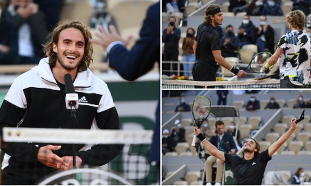 Στέφανος Τσιτσιπάς: «Έκανα... κοπάνες για να βλέπω Roland Garros και τώρα είμαι εδώ» (video)