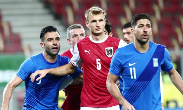 Αυστρία-Ελλάδα: «Έφαγε» δύο γκολ σε τρία λεπτά η Εθνική (video)