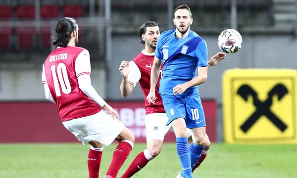 Αυστρία - Ελλάδα 2-1: Τα highlights του αγώνα (video)