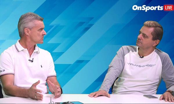 Βαζέχα στο «Onsports Live»: «Πρώτος που φταίει ο Ρόκα, πρέπει να φύγουν και οι δύο»!