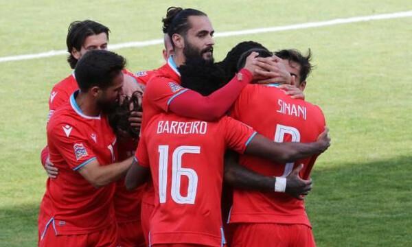Nations League: Κατρακύλα για Κύπρο (video+photos)