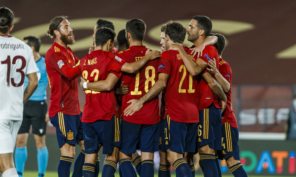 Nations League: Η Ισπανία δεν συγχώρησε το λάθος των Ελβετών (video+photos)