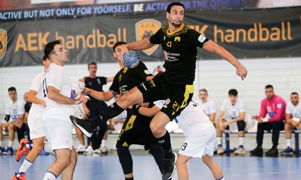 Handball Premier: Άνετες νίκες για ΑΕΚ, Ολυμπιακό