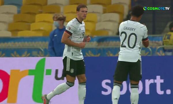 Nations League: Ο Γκορέτσκα είπε «ευχαριστώ» για το δώρο κι έκανε το 0-2 (video)