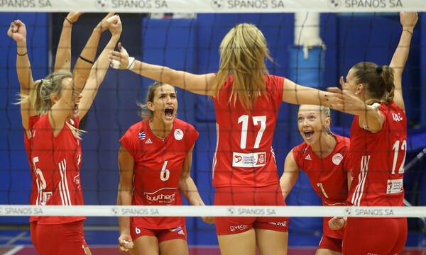Volley League Γυναικών: Νίκη-θρίλερ για Ολυμπιακό στη Βούλα