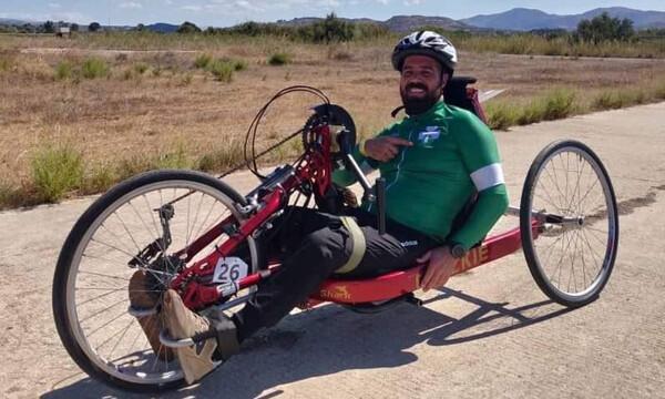 Παναθηναϊκός ΑμεΑ: «Ασημένιος» ο Νίκος Ρούσος στο Ευρωπαϊκό Κύπελλο ποδηλασίας