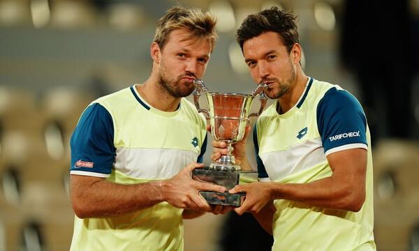 Roland Garros: Οι Γερμανοί Κράβιτς και Μις έκαναν το back to back στο Παρίσι (photos+videos)
