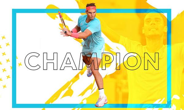 13 Roland Garros και 20 Grand Slam ο «ταυρομάχος» του... Παρισίου, Ράφαελ Ναδάλ! (photos+videos)