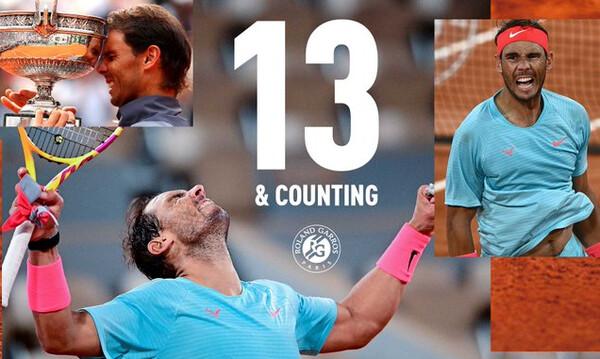 Roland Garros: Η «στέψη» του Βασιλιά, Ράφαελ Ναδάλ στο Παρίσι, και η Χρυσή βίβλος! (photos+videos)