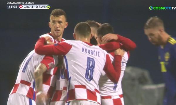 Nations League: Τρομερή αντεπίθεση οι Κροάτες και γκολ με Βλάσιτς (video)