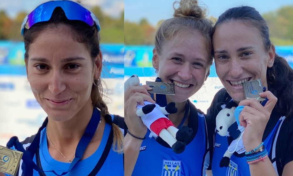 Κυρίδου-Μπούρμπου: «Χαρούμενες για τα μετάλλια, σε μια χαμένη χρονιά»!