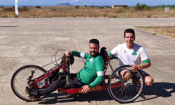Παναθηναϊκός ΑμεΑ: Δεύτερο μετάλλιο για τον Νίκο Ρούσο στο Ευρωπαϊκό Κύπελλο ποδηλασίας!