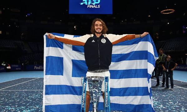 Τένις: Προκρίθηκε στα ATP Finals ο Στέφανος Τσιτσιπάς (photo+video)