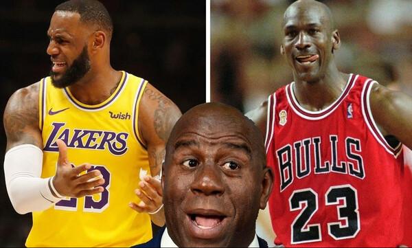 NBA: Η ατάκα του Μάτζικ για Λεμπρόν και Τζόρνταν