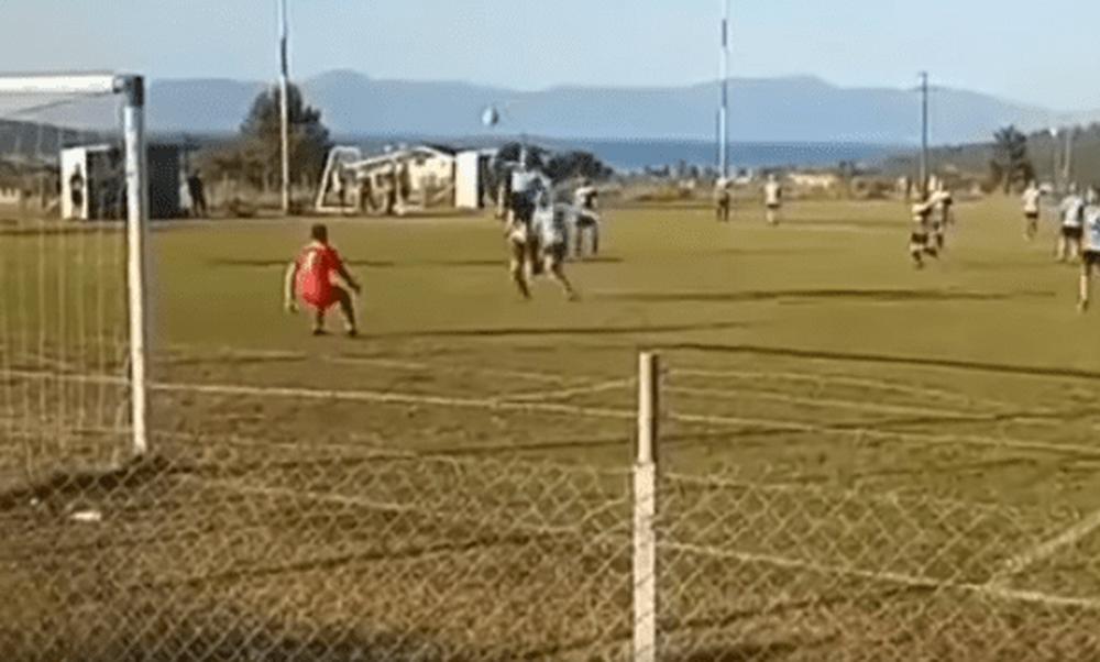 Γκολάρα αλά Ζλάταν σε αγώνα τοπικού πρωταθλήματος (video)