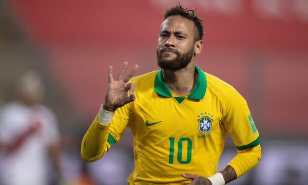 Ασταμάτητη η Βραζιλία στον δρόμο για το Μουντιάλ 2022 - Επικό ρεκόρ Νεϊμάρ (photos+video)