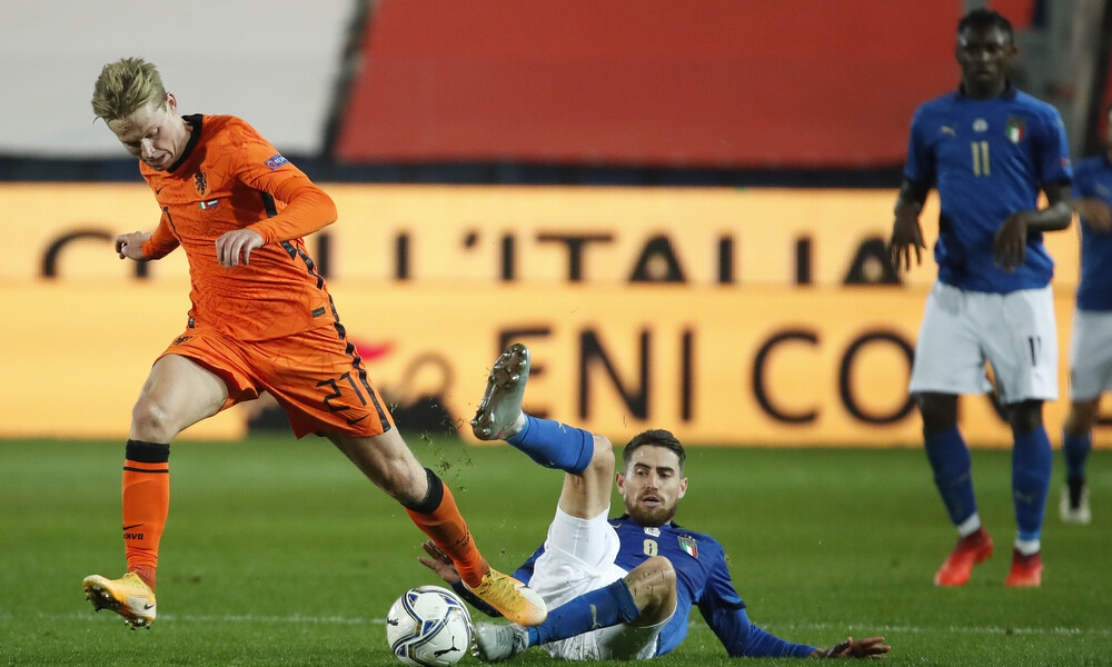 Nations League: Ισόπαλες Ιταλία, Ολλανδία, «σόκαρε» την Αγγλία η Δανία (videos)