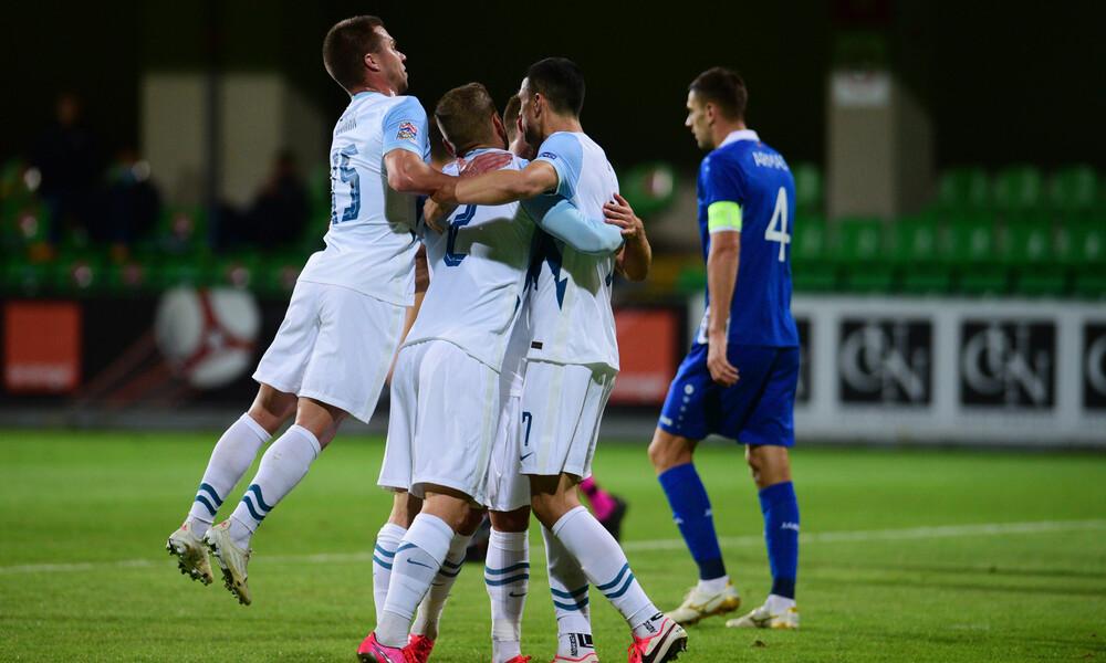 Nations League: Πέρασε με τεσσάρα από την Μολδαβία η Σλοβενία (videos)