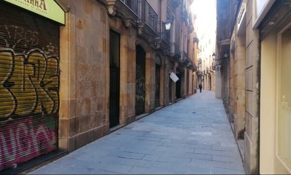 Αποστολή στη Βαρκελώνη: Μια κοσμοπολίτισσα βουβή και τρομαγμένη (photos+videos)