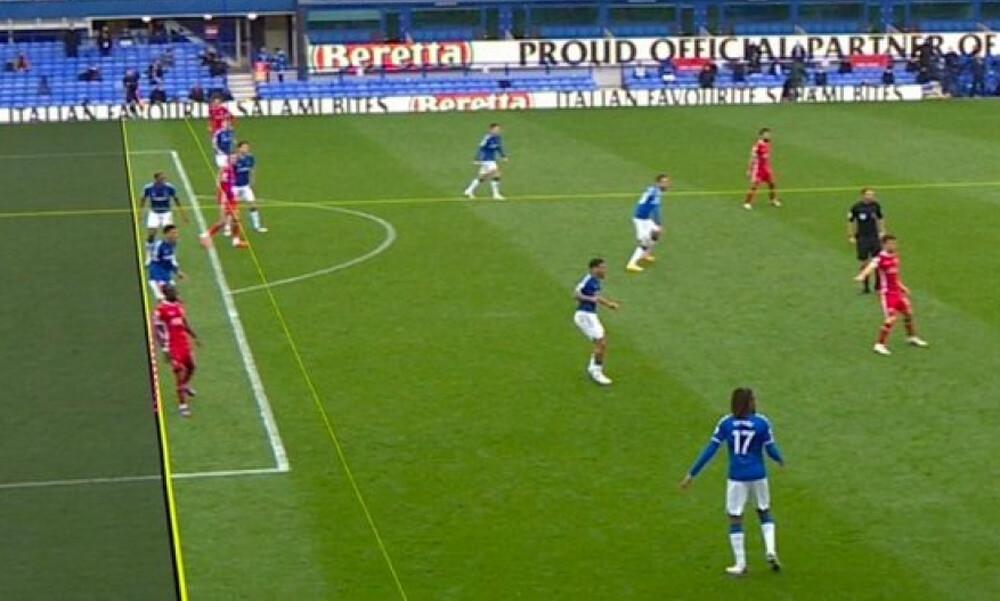 Το γκολ της Λίβερπουλ που ακυρώθηκε και έβαλε «φωτιά» στο ντέρμπι του Μέρσεϊσαϊντ (photos+video)
