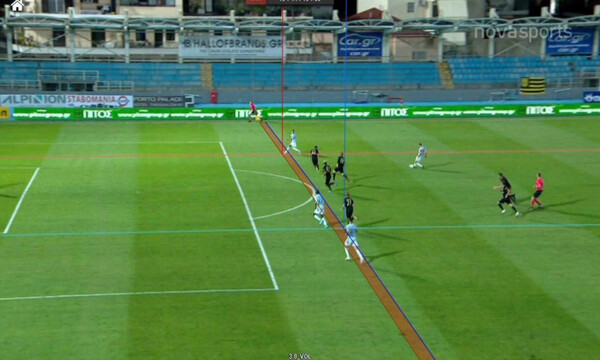 Άρης-Απόλλων Σμύρνης 1-0: Ακυρώθηκε γκολ του Σλίβκα για οφσάιντ του Μουνιέ! (video)