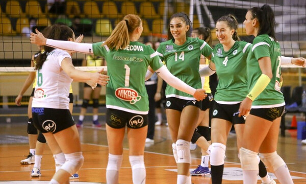 Volley League Γυναικών: Έκαναν σεφτέ τα… φίνα κορίτσια του Παναθηναϊκού (photos)
