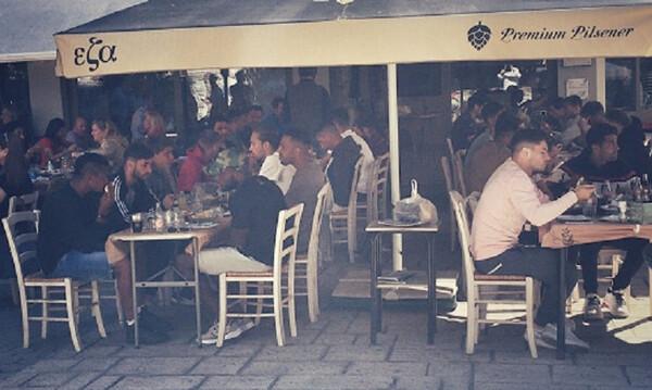 Πανσερραϊκός: Οικογενειακό τραπέζι στο κέντρο των Σερρών