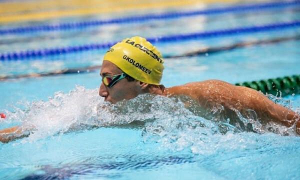 Κολύμβηση: Νέο Πανελλήνιο ρεκόρ στα 100μ ελεύθερο πέτυχε ο Κρίστιαν Γκολομέεβ στη Βουδαπέστη!