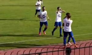 Το γκολ της χρονιάς στη Γ' Εθνική: Το «κάρφωσε» από το κέντρο! (video)