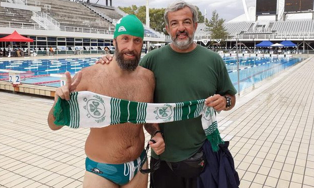 Παναθηναϊκός ΑμεΑ: Γράφτηκε ιστορία στην κολύμβηση από τον Μωραΐτη (photos)
