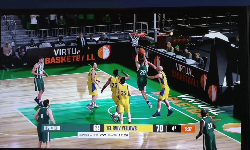 Το ΠΑΜΕ ΣΤΟΙΧΗΜΑ Virtual Sports παίζει και μπάσκετ στα καταστήματα ΟΠΑΠ