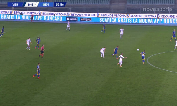Serie A: Κόλλησαν στο 0-0 Ελλάς Βερόνα και Τζένοα (video+photos)
