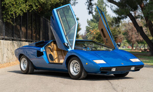 Mια Lamborghini πιο ρετρό και από τις φωτογραφίες του πατέρα σου