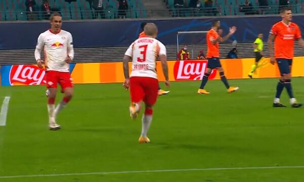 Λειψία-Μπασακσεχίρ 2-0: Με υπογραφή Αντζελίνο (video)