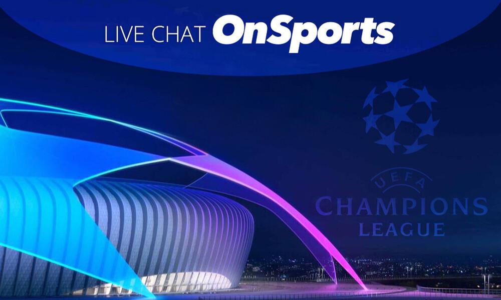 Live Chat το Champions League