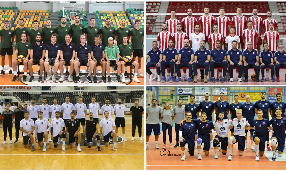 Αφιέρωμα Onsports: Οι οκτώ «μαχητές» της Volley League 2020-21