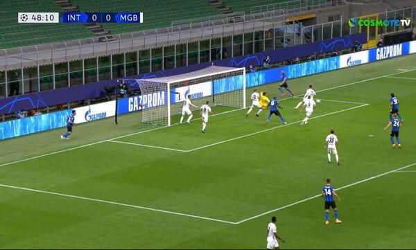 Ίντερ-Γκλάντμπαχ: Με… περιπέτεια το 1-0 ο Λουκάκου (video)