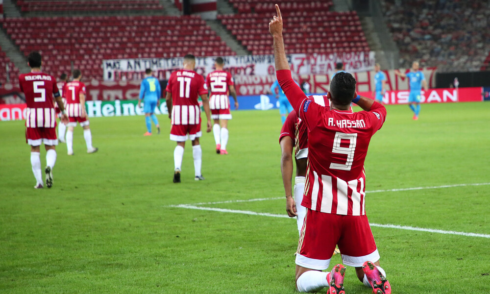 Ολυμπιακός - Μαρσέιγ 1-0: Ο «Φαραώ» τον έβαλε με το δεξί στ' αστέρια (photos+videos)