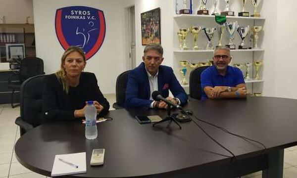 Πρόεδρος Φοίνικα Σύρου, Καφτηράνης: «Πιο δίκαιο το πρωτάθλημα! Εμείς πάμε για ένα σκαλί ψηλότερα…»