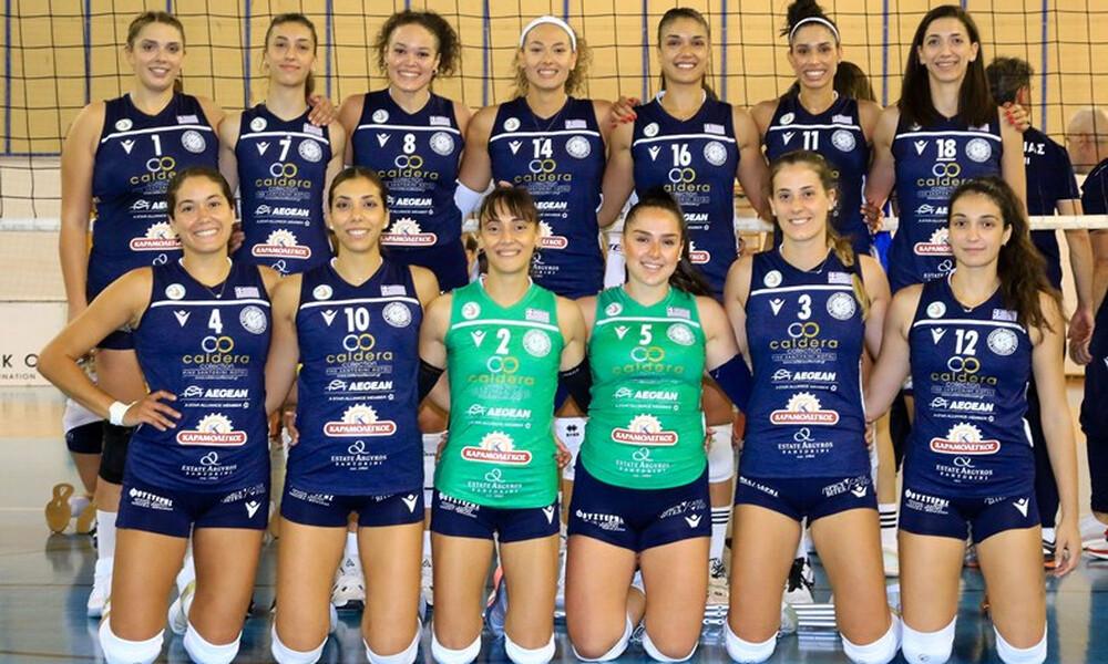Volley League Γυναικών: Νέα γραφεία, αθλητικοί χώροι και εξοπλισμός για τον Α.Ο. Θήρας!