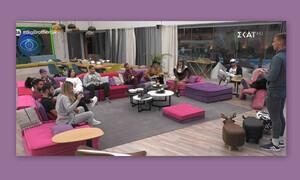 Big Brother: Ανατροπή πριν το live! Το βέτο και οι υποψήφιοι