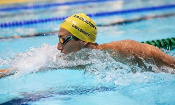 Κολύμβηση: «Άγγιξε» το Πανελλήνιο ρεκόρ στα 50μ ελεύθερο ο Κρίστιαν Γκολομέεβ