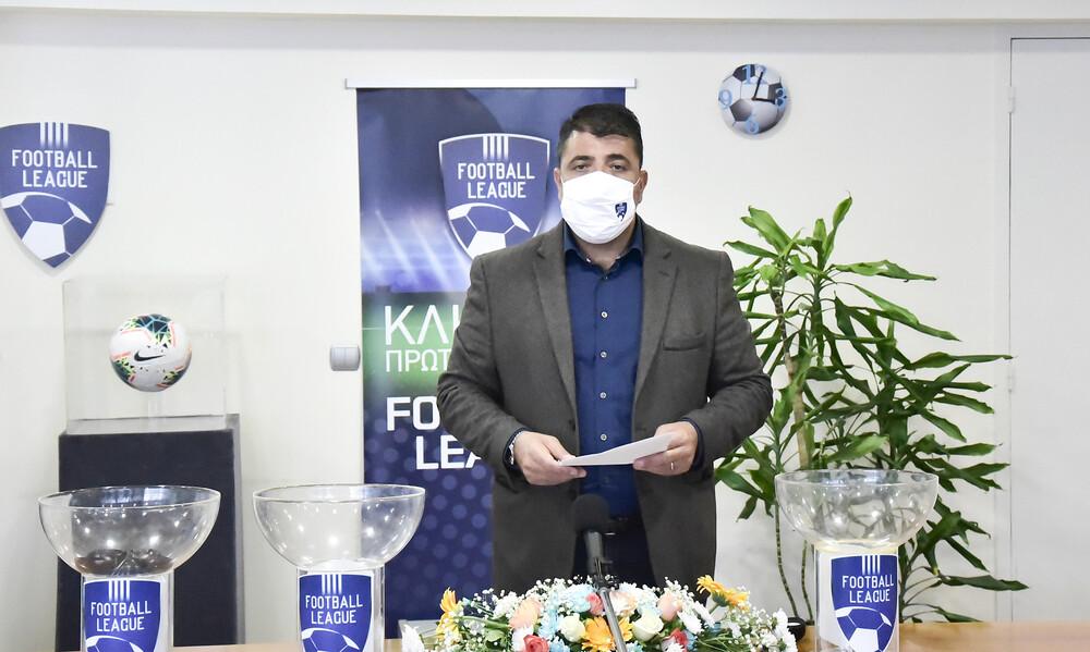 Λεουτσάκος: «Σέντρα σε Super League 2 και Football League στις 7/11 – Τι γίνεται με την ΕΡΤ»