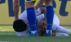 Αστέρας Τρίπολης-ΟΦΗ: Ο σοκαριστικός τραυματισμός του Ναμπί (photos+video)