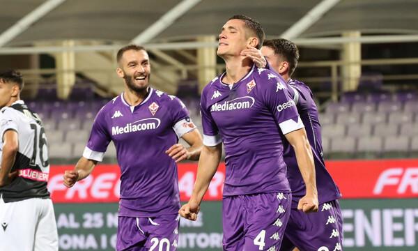 Serie A: Οδηγός για Φιορεντίνα ο Καστροβίλι, νίκησε Οκάκα και Ουντινέζε (video+photos)