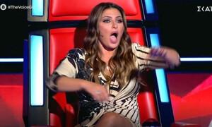 The Voice: Ένας παλιός γνώριμος της Παπαρίζου στη σκηνή - Άφωνη η τραγουδίστρια!