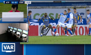 Ατρόμητος-Παναιτωλικός: Το γκολ του Μανούσου με «τραβηγμένο» πέναλτι (videos+photos)