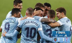 La Liga: Λεβάντε και Θέλτα κόλλησαν στο «Χ» (video-photos)