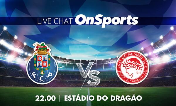 Live Chat Πόρτο - Ολυμπιακός 2-0 (Τελικό)